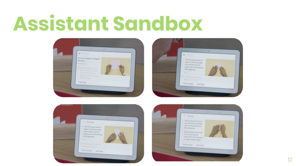12 Assistant Sandbox