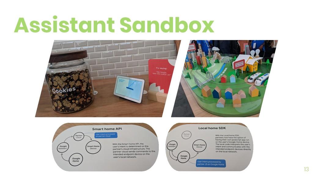 13 Assistant Sandbox