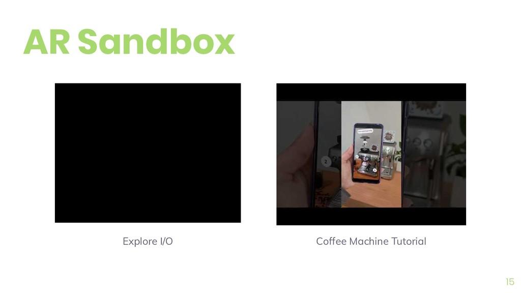 15 AR Sandbox Coffee Machine Tutorial Explore I...