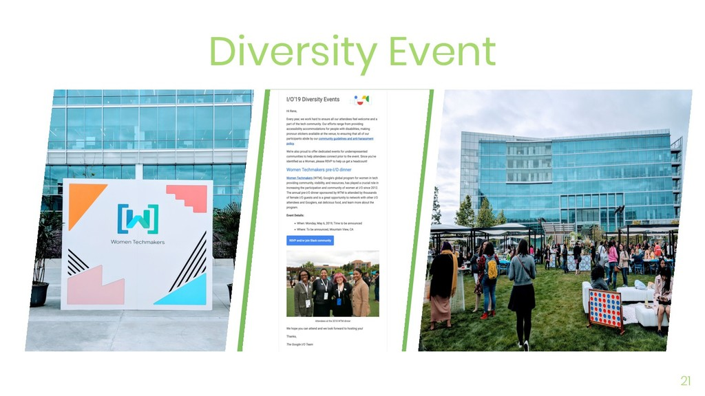 Diversity Event 21