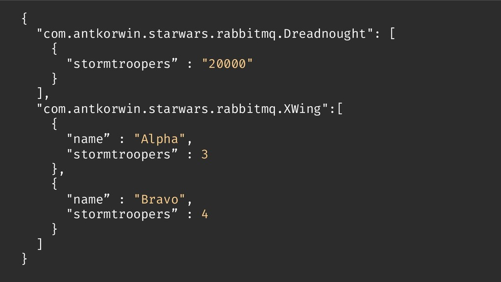 "{ ""com.antkorwin.starwars.rabbitmq.Dreadnought""..."