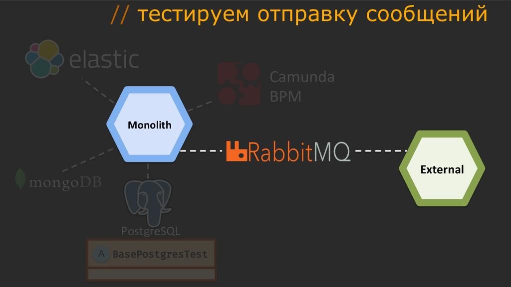 PostgreSQL Camunda BPM BasePostgresTest A Exter...