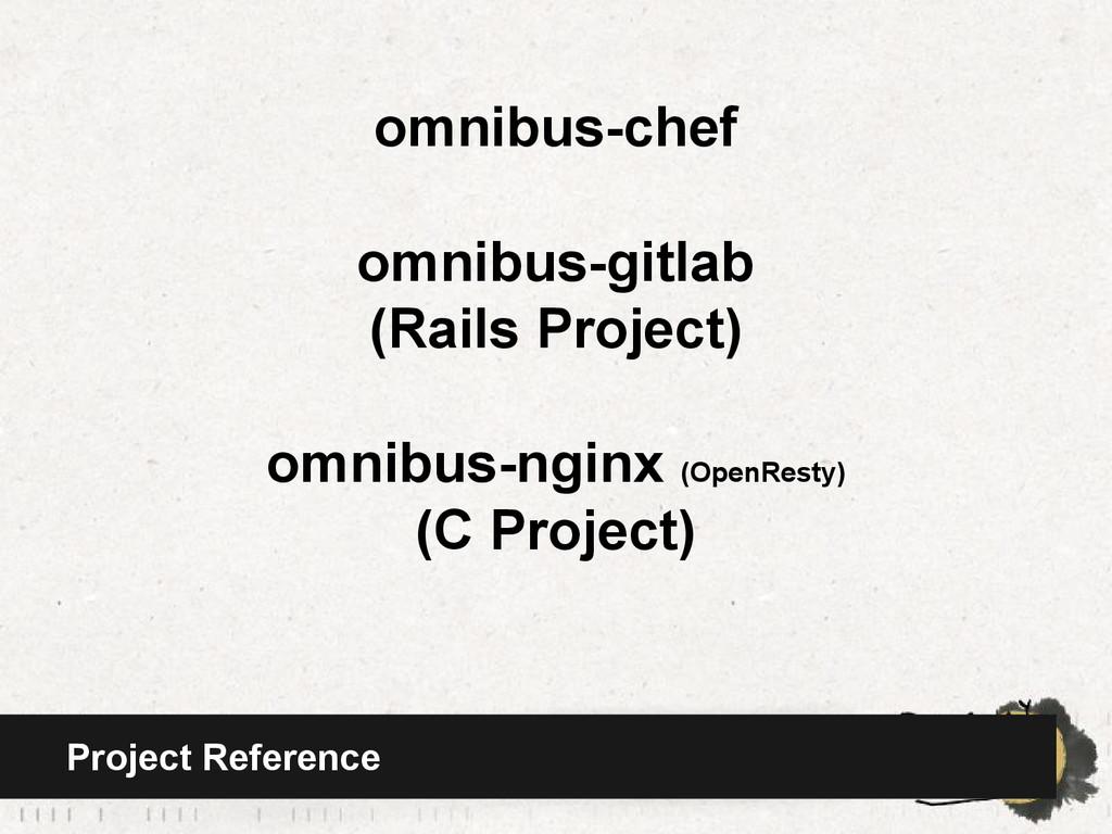 omnibus-chef omnibus-gitlab (Rails Project) omn...