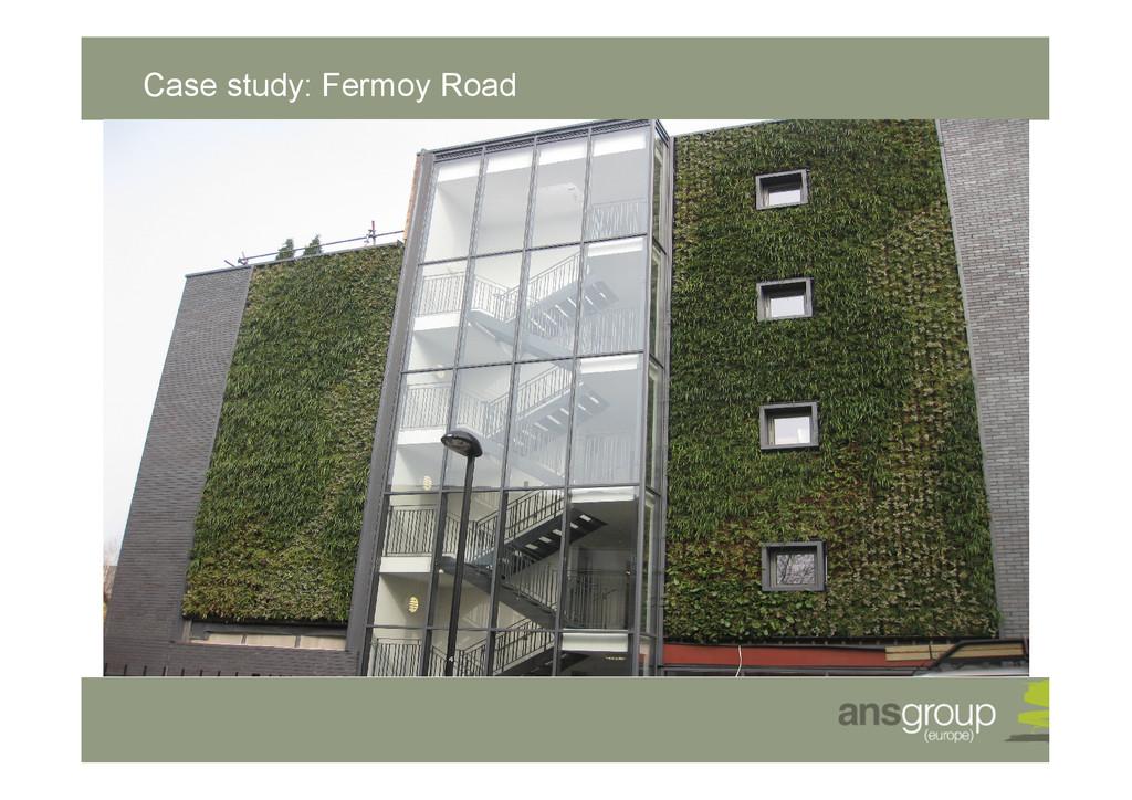 Case study: Fermoy Road