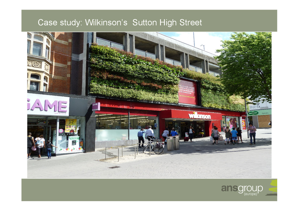 Case study: Wilkinson's Sutton High Street