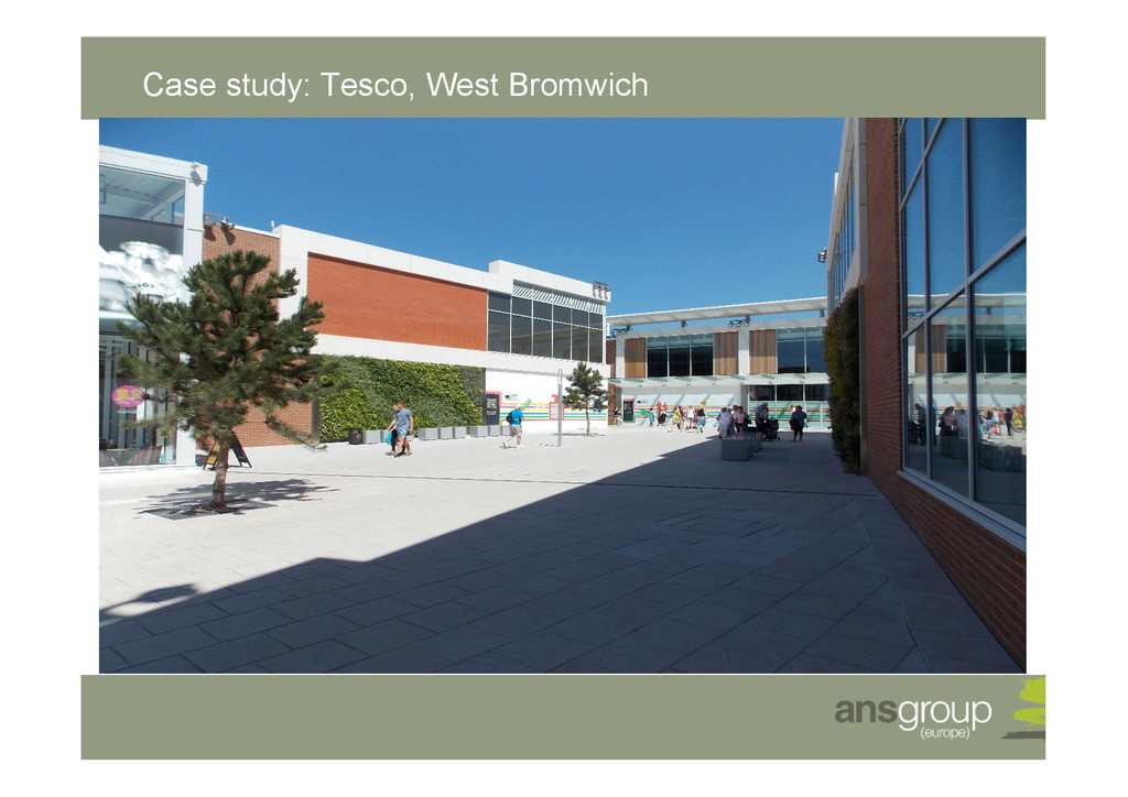 Case study: Tesco, West Bromwich