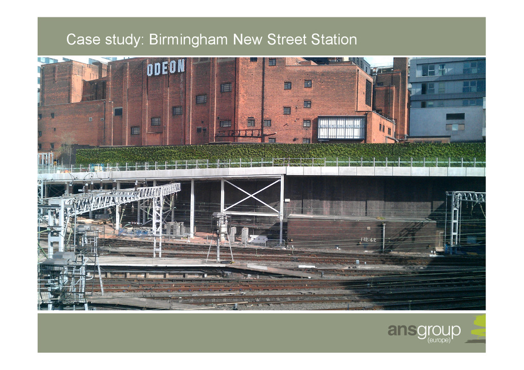 Case study: Birmingham New Street Station