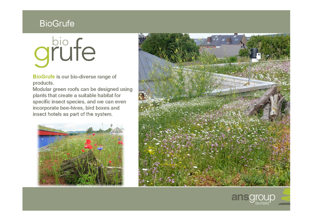 BioGrufe BioGrufe is our bio-diverse range of p...