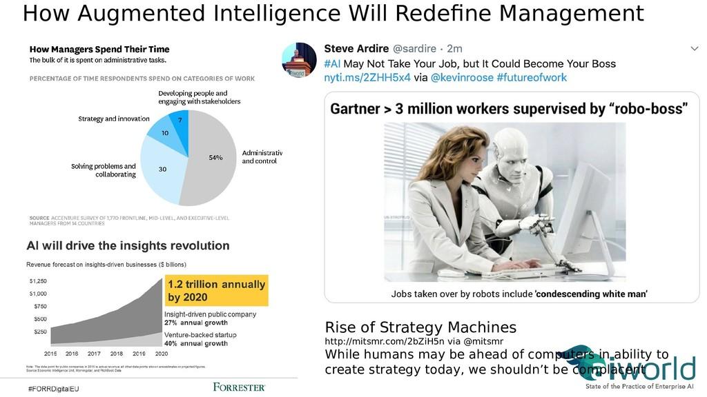 How Augmented Intelligence Will Redefne Managem...