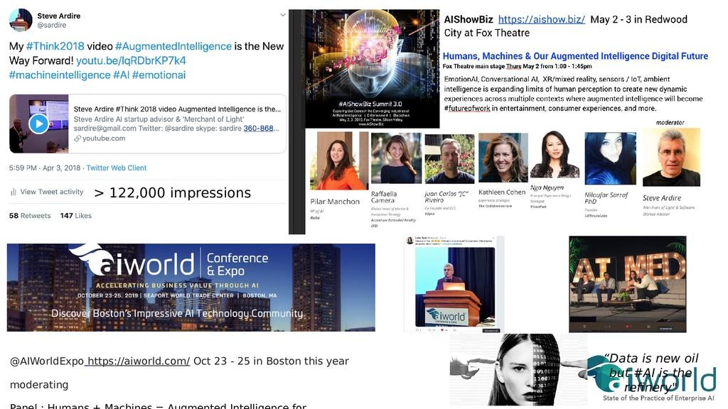 > 122,000 impressions @AIWorldExpo https://aiwo...