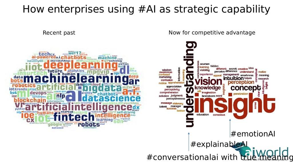 How enterprises using #AI as strategic capabili...