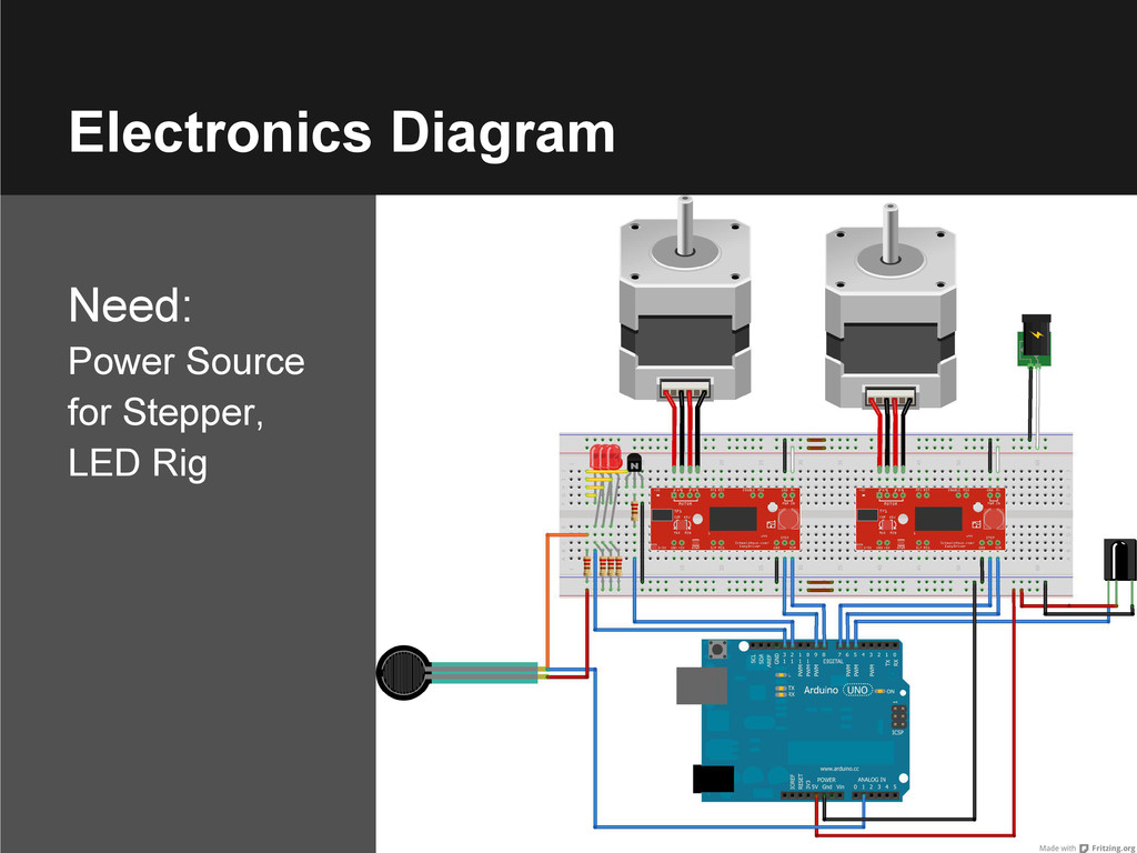 Electronics Diagram Need: Power Source for Step...