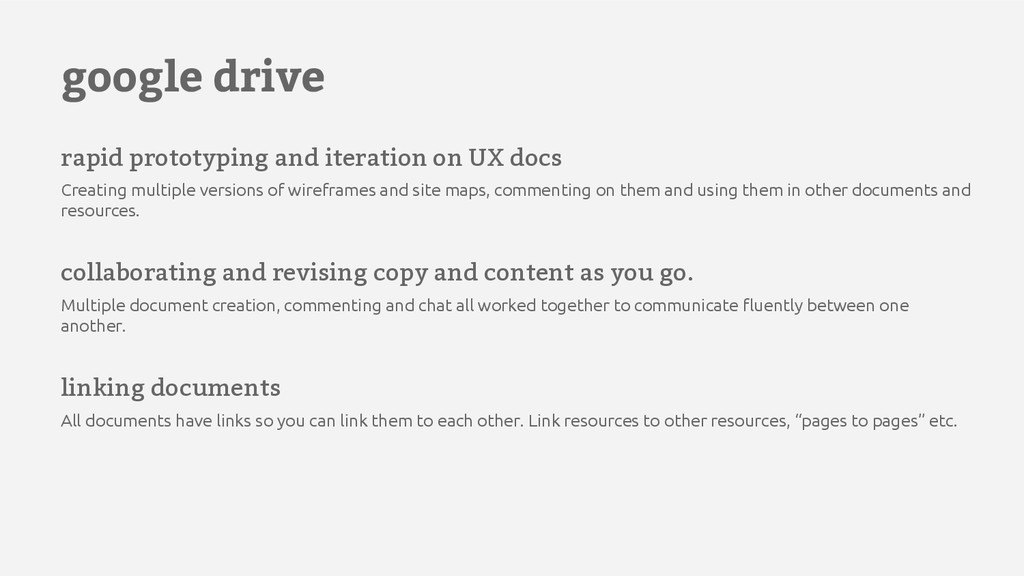 google drive rapid prototyping and iteration on...