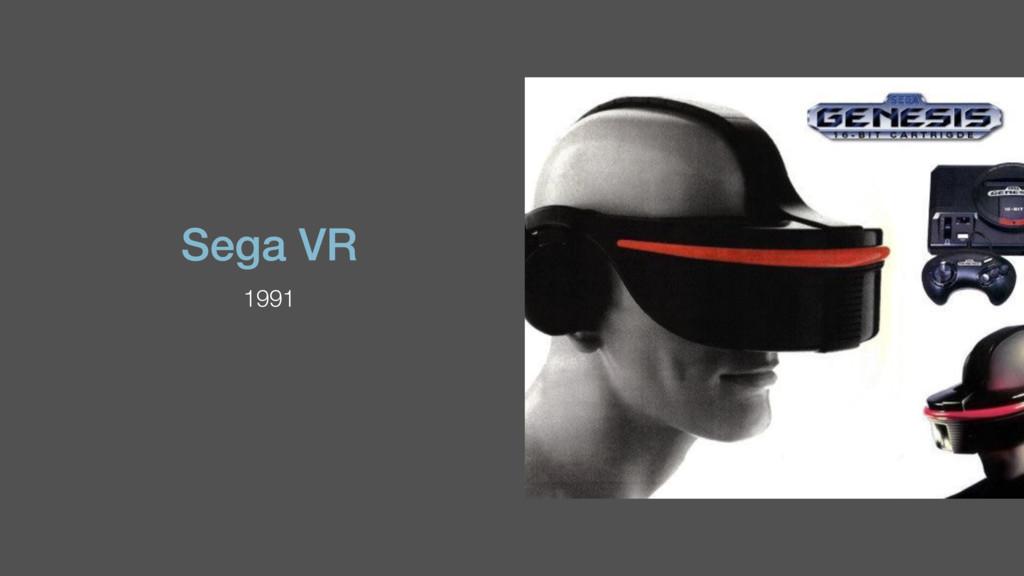 Sega VR 1991