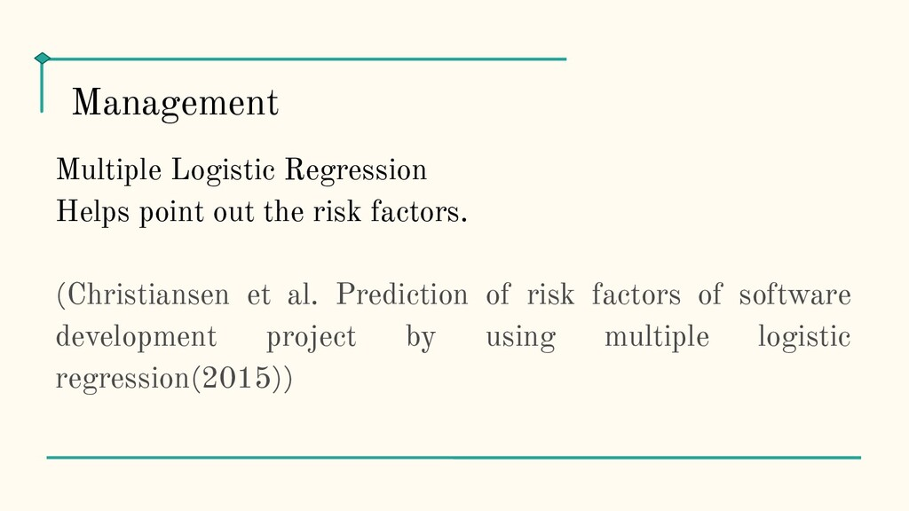 Multiple Logistic Regression Helps point out th...