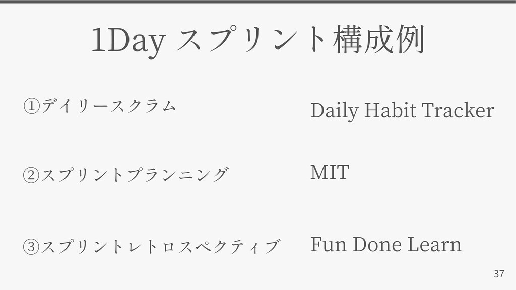 37 MIT 1Day Daily Habit Tracker Fun Done Learn