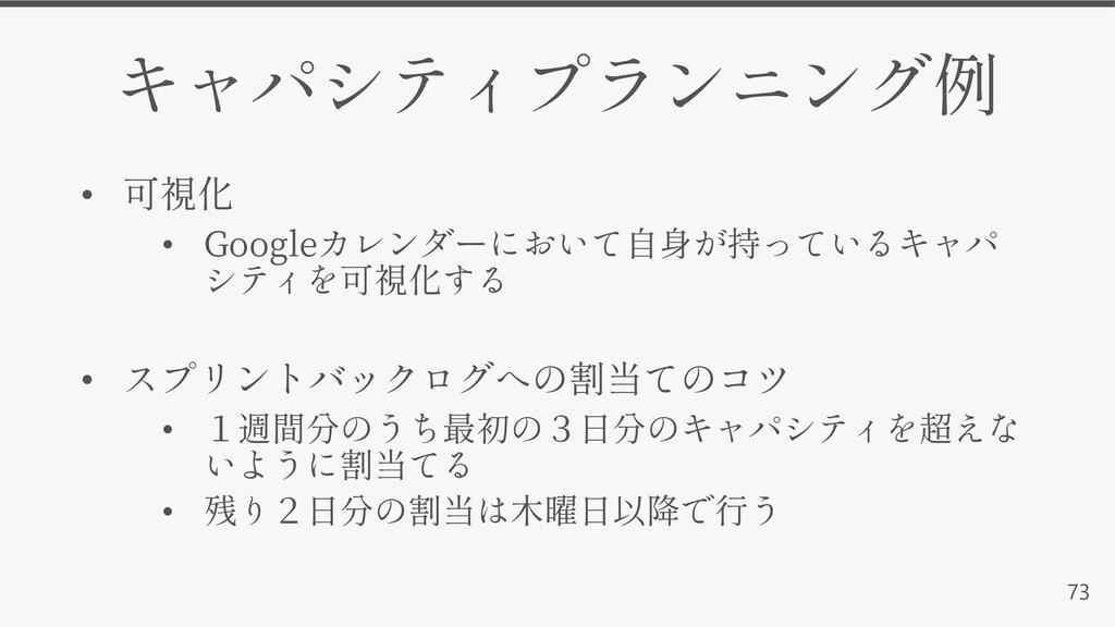 73 • • Google • • •