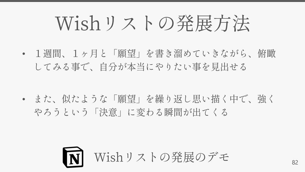 82 Wish • • Wish