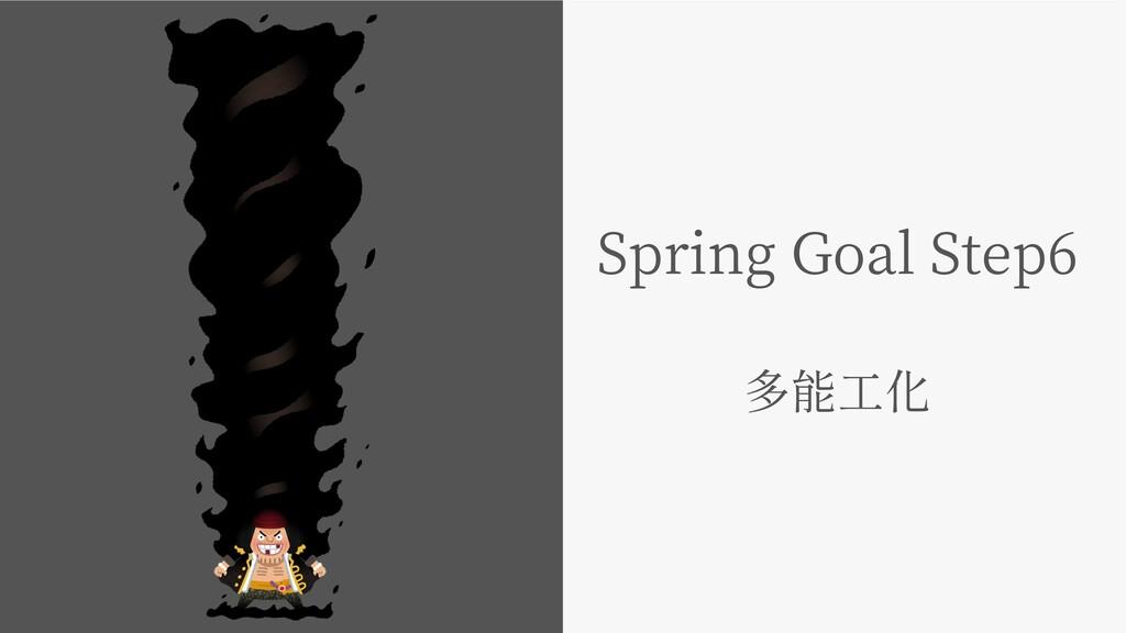 Spring Goal Step6