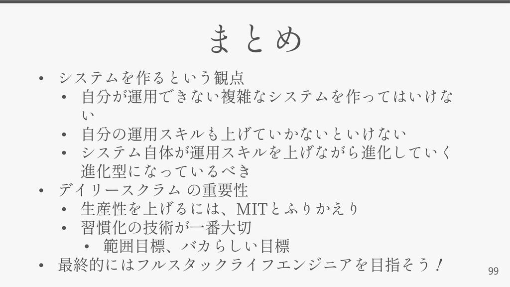 99 • • • • • • MIT • • •