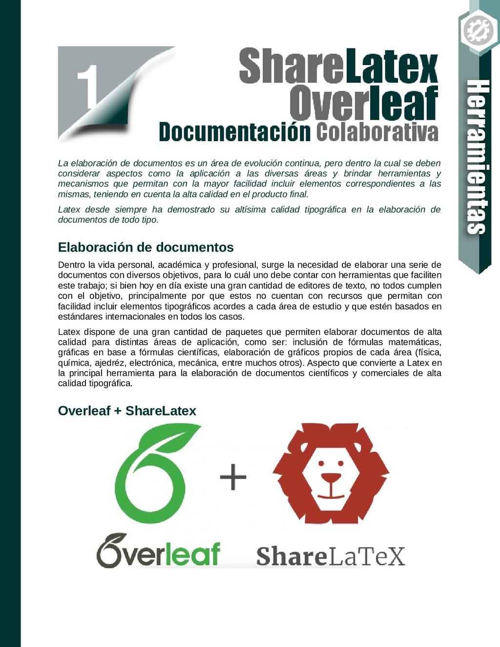 La elaboración de documentos es un área de evol...