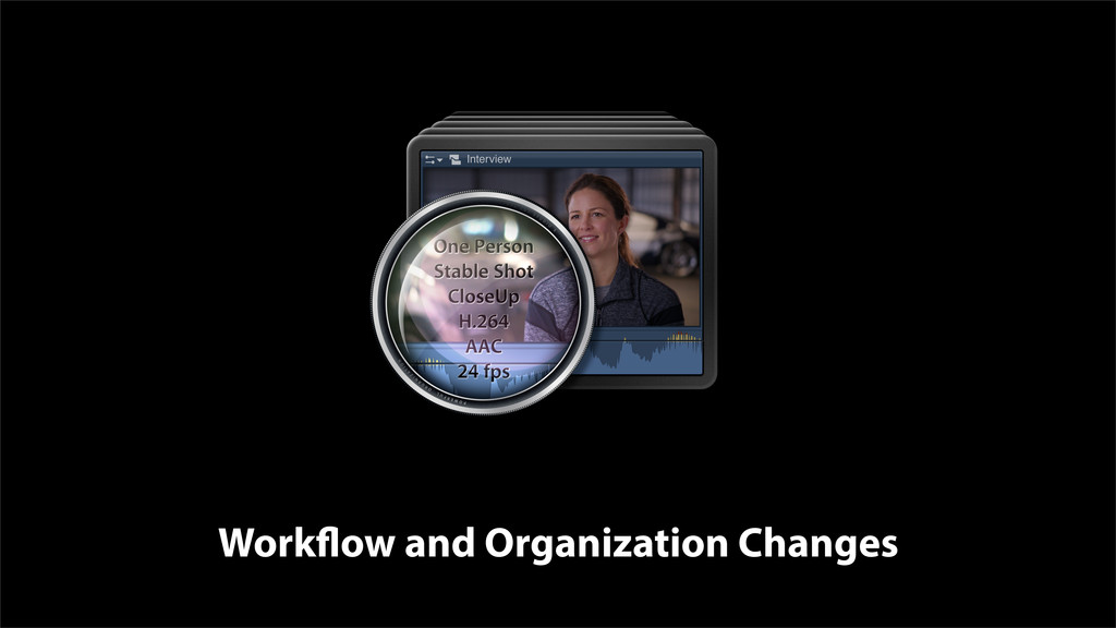 Workflow and Organization Changes