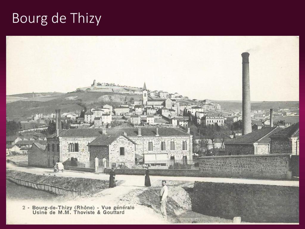 Bourg de Thizy