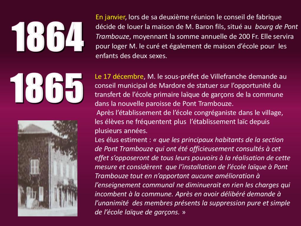 Le 17 décembre, M. le sous-préfet de Villefranc...