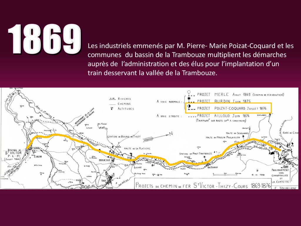 Les industriels emmenés par M. Pierre- Marie Po...