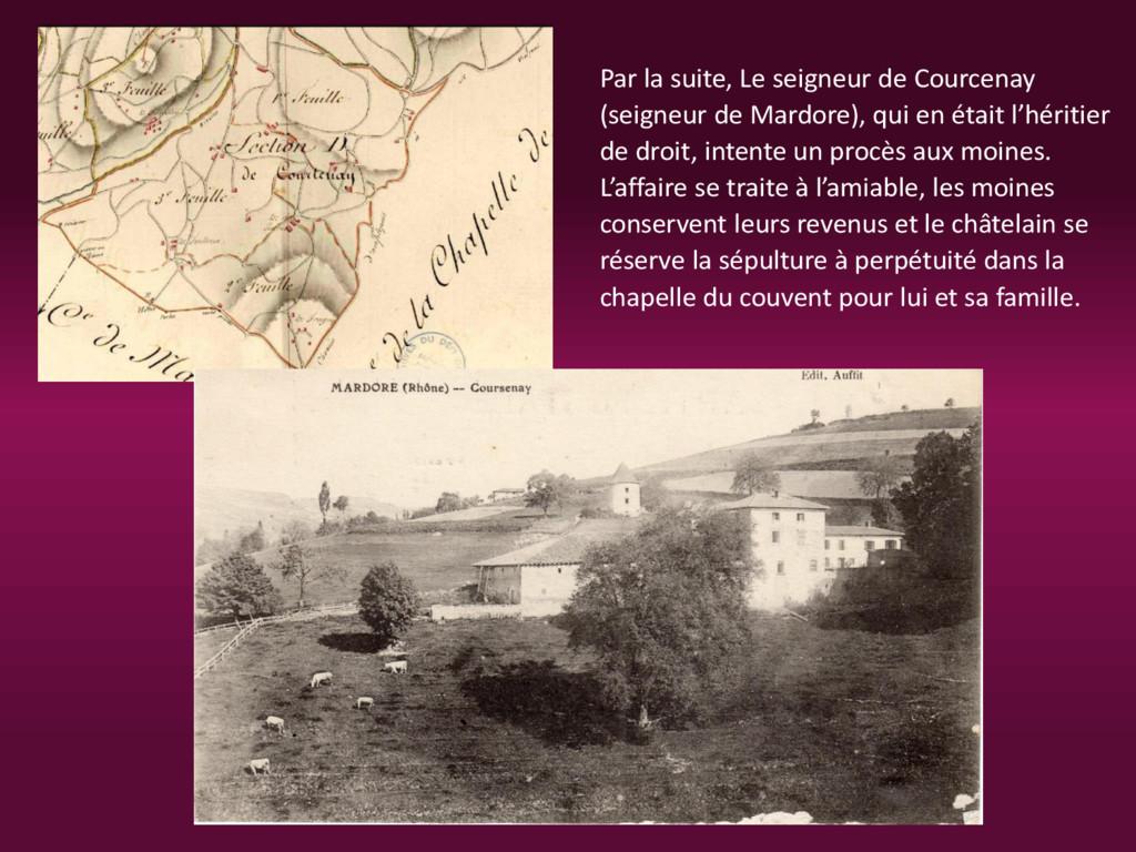 Par la suite, Le seigneur de Courcenay (seigneu...
