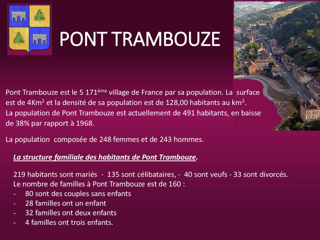 PONT TRAMBOUZE Pont Trambouze est le 5 171ème v...