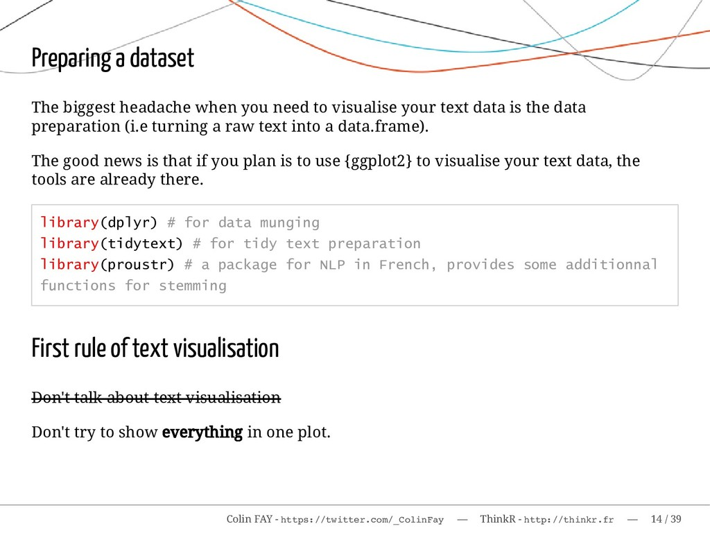 Preparing a dataset The biggest headache when y...