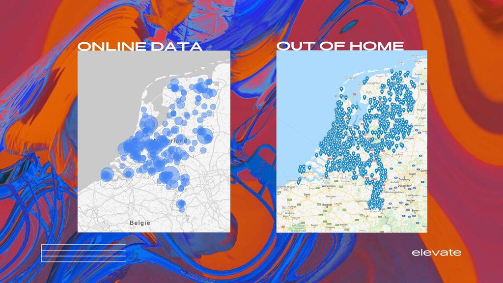 elevate ONLINE DATA OUT OF HOME