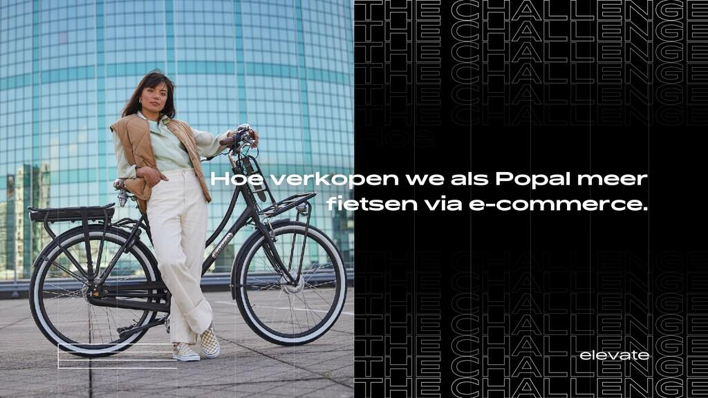 Hoe verkopen we als Popal meer  fietsen via e-c...