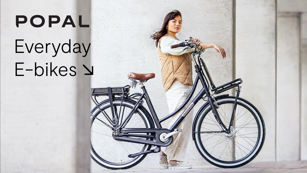Everyday E-bikes