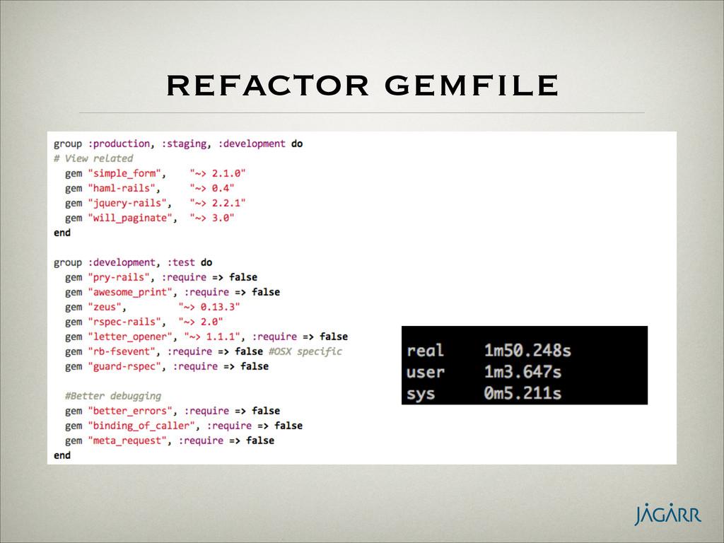refactor gemfile • stop loading gems not used i...