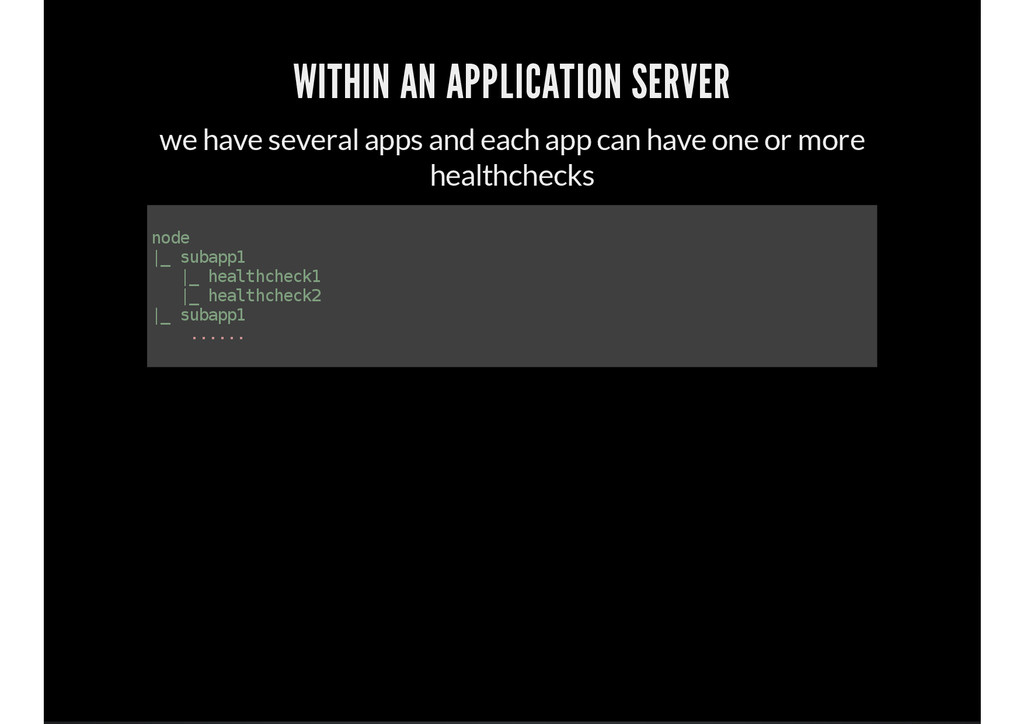 WITHIN AN APPLICATION SERVER we have several ap...