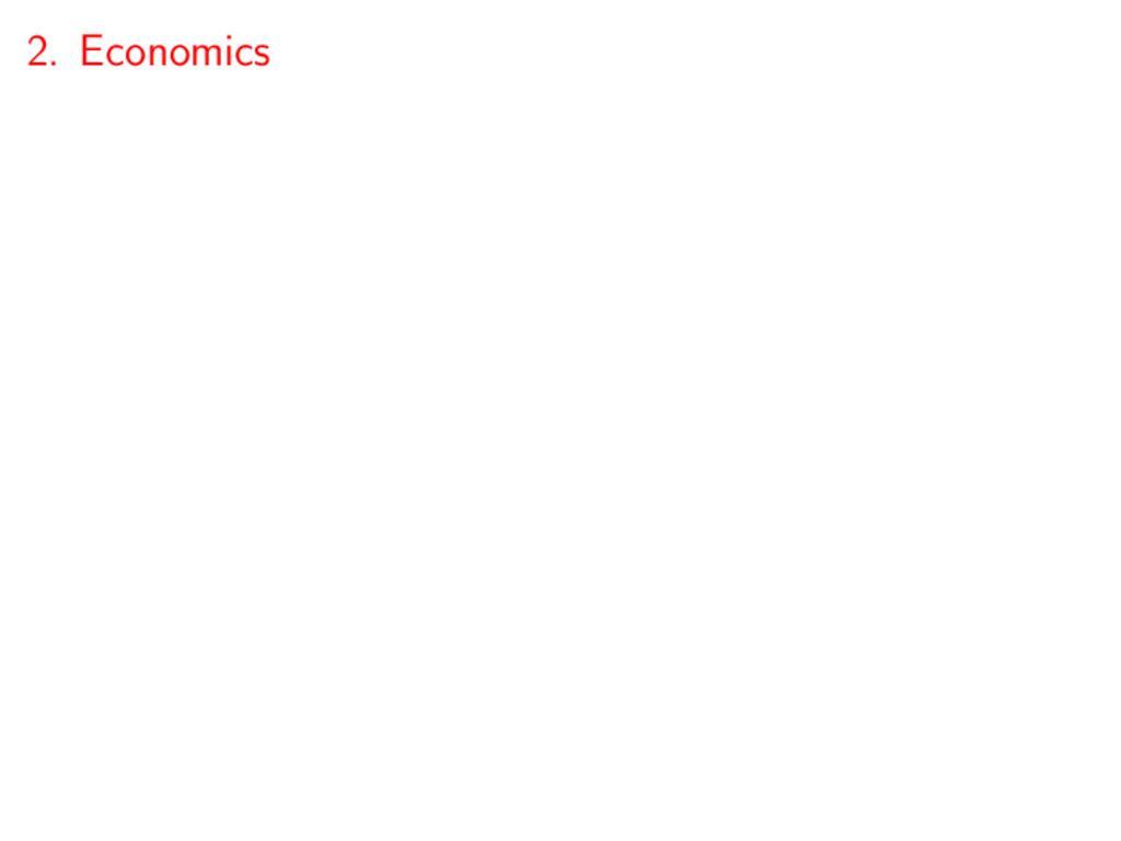 2. Economics