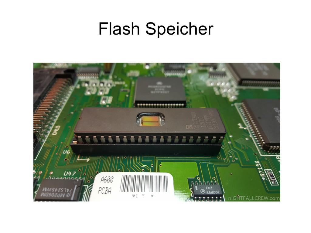 Flash Speicher
