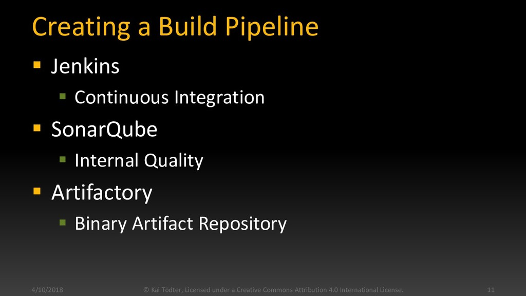 Creating a Build Pipeline  Jenkins  Continuou...