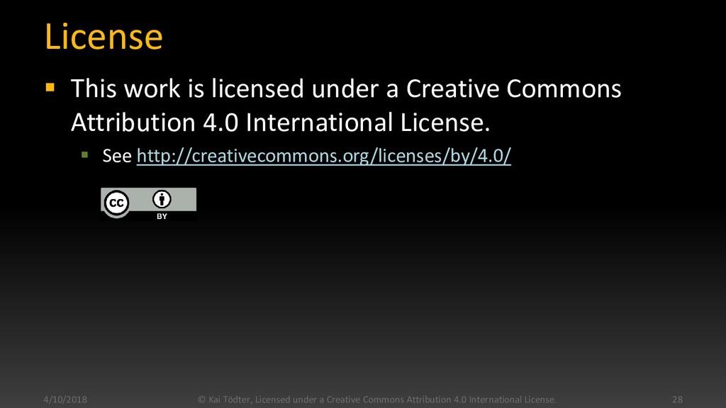 License  This work is licensed under a Creativ...