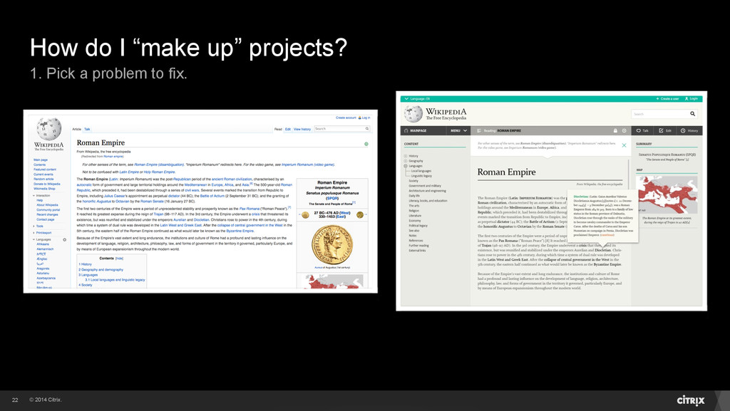 """© 2014 Citrix. How do I """"make up"""" projects? 1. ..."""