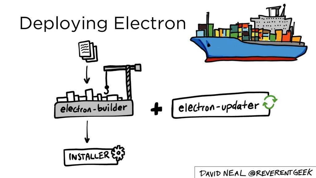 Deploying Electron