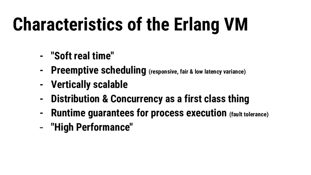 """- """"Soft real time"""" - Preemptive scheduling (res..."""