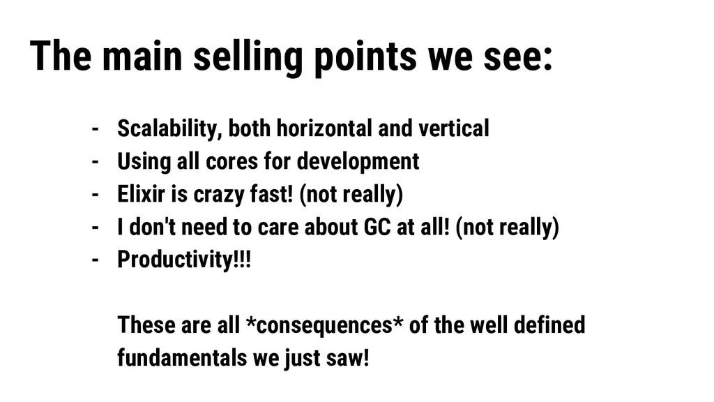 - Scalability, both horizontal and vertical - U...