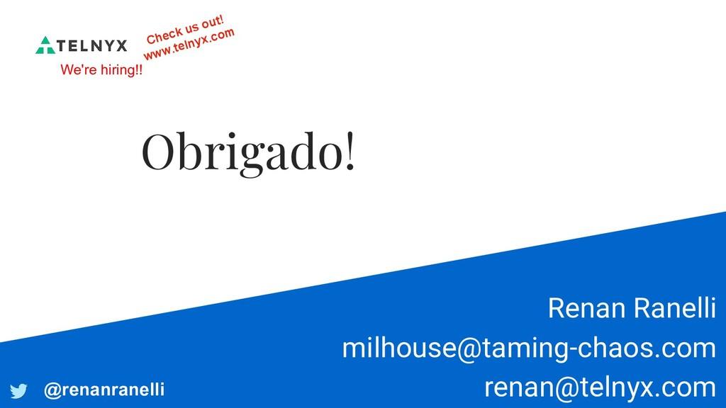 Renan Ranelli milhouse@taming-chaos.com renan@t...