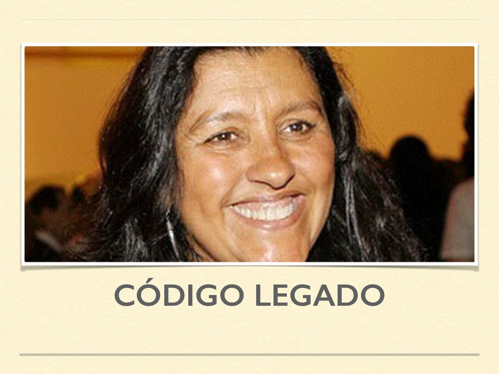 CÓDIGO LEGADO
