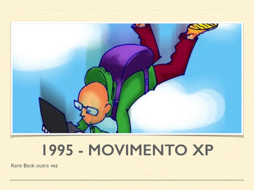 1995 - MOVIMENTO XP Kent Beck outra vez