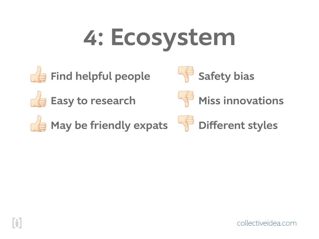 collectiveidea.com 4: Ecosystem ! Find helpful ...