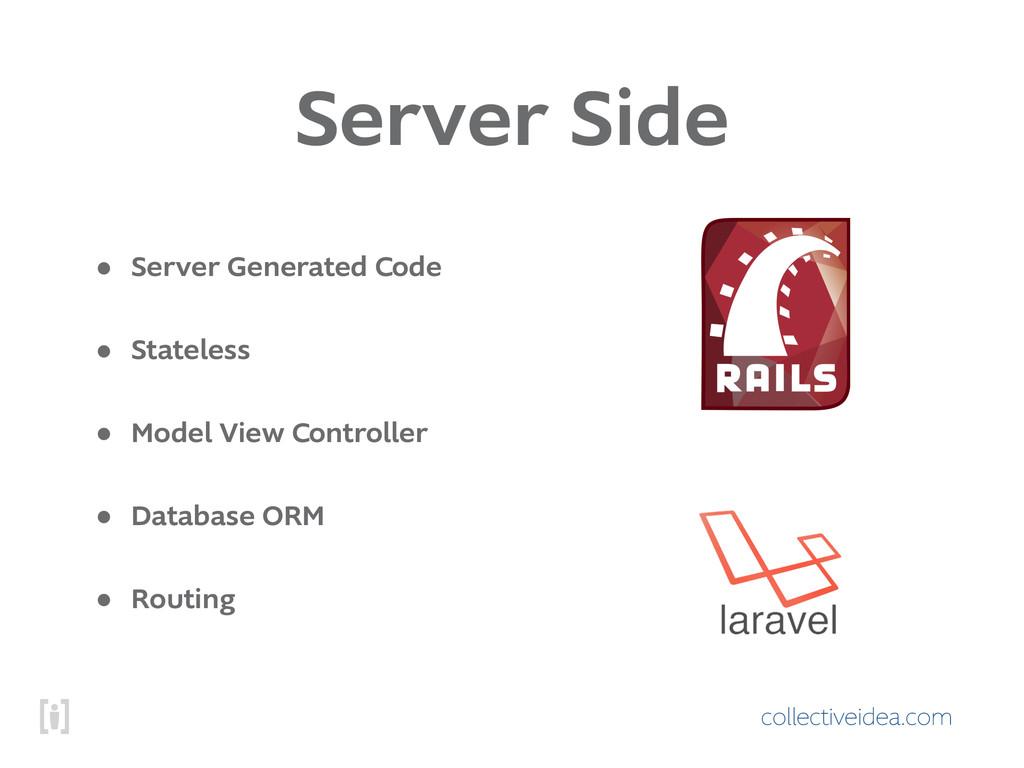collectiveidea.com Server Side • Server Generat...